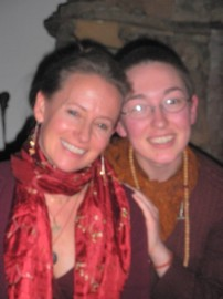 Aditi Devi Ma and Arwen Greer (formerly Ani Pema) 2010
