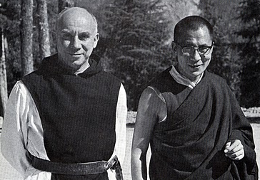 Thomas Merton and the Dalai Lama, 1968