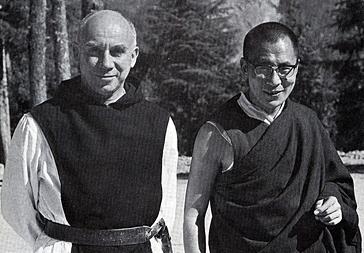 Thomas Merton and the Dalai Lama, 1968