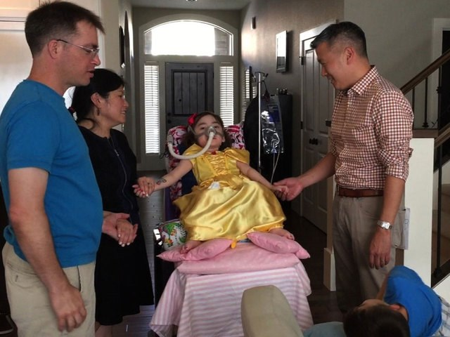 the bravest 5 year old, Julianna Snow, born with an incurable disease