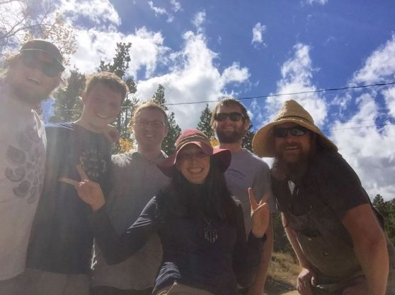 A weed walk with Jeff Green of Very Nice Brewing and the Caribou Mountain Collective, September 2015