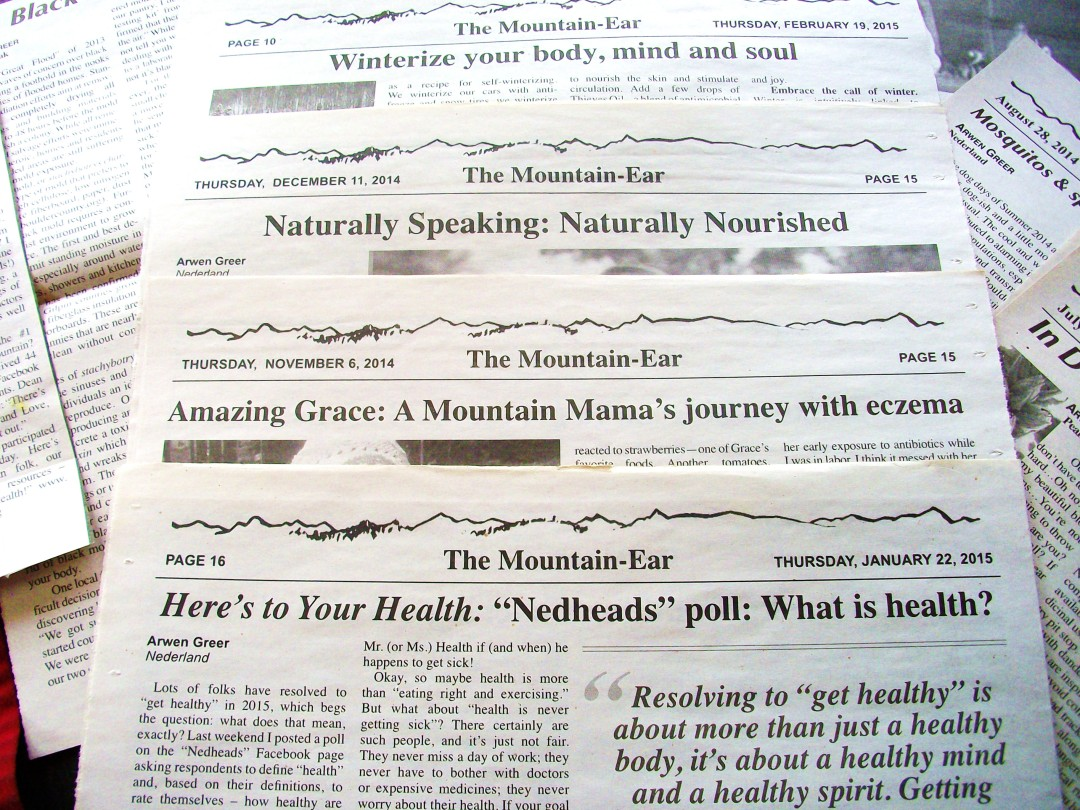 ...and we continue to be a strong and trustworthy voice for health advocacy and community wellness in our local papers.