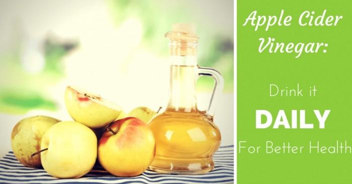 Apple Cider Vinegar Drinking Straight