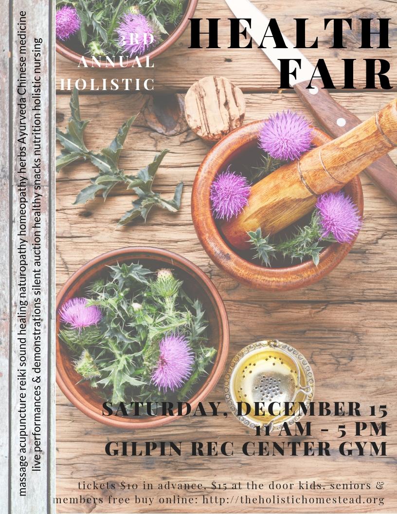3rd annual holistic health fair